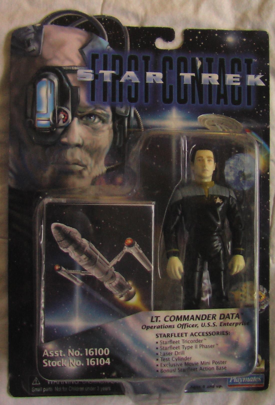 Star Trek Action Figure: Data