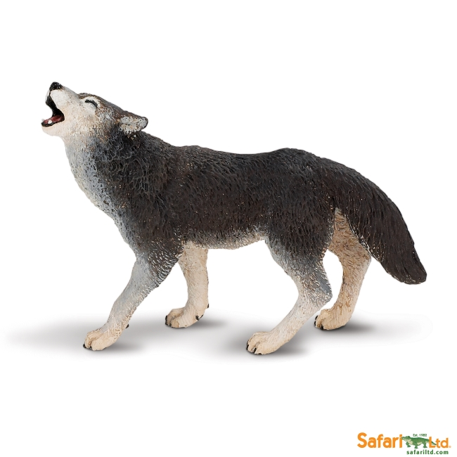 Wolf Pup Howling. AR02: Howling Wolf Pup
