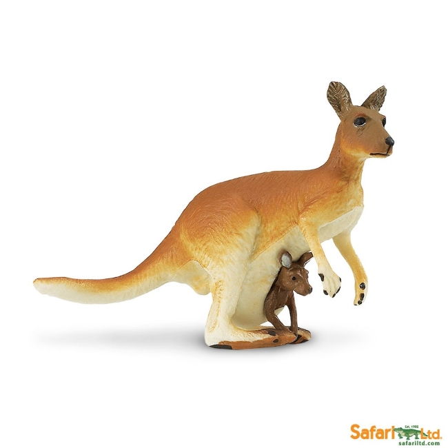 Kangaroo with Baby Vinyl Figure