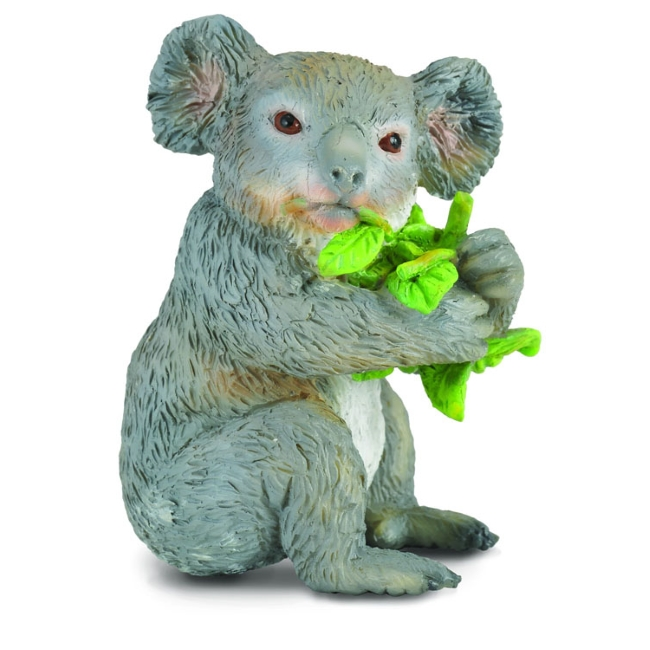 Koala with Eucalyptus Vinyl Figure