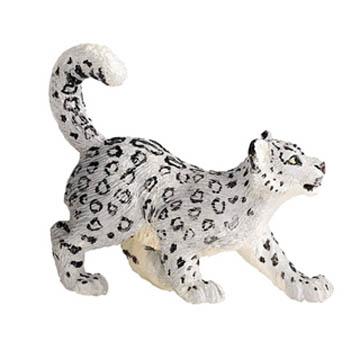 Snow Leopard Cub Vinyl Figure