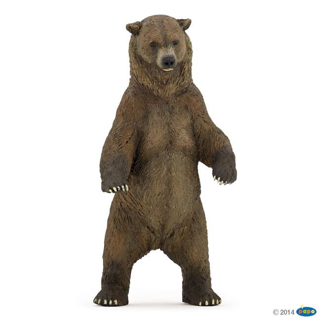 Standing Grizzly Bear Vinyl Figure