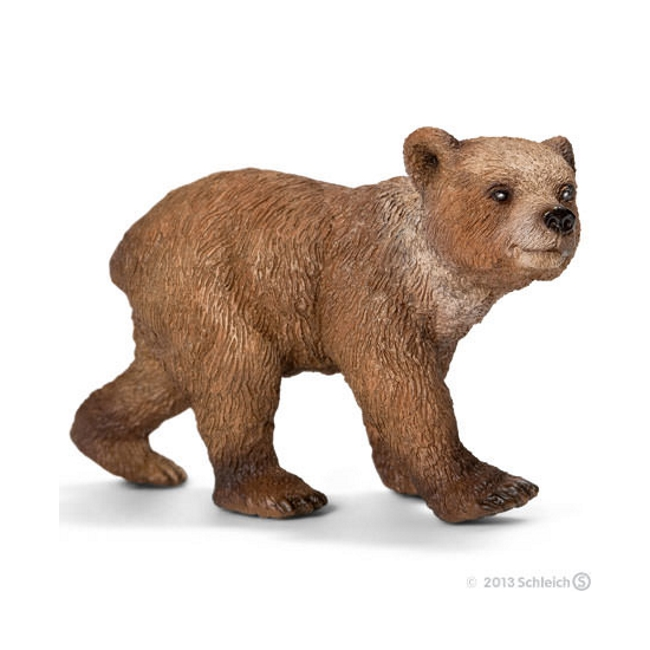 Grizzly Bear Cub Vinyl Figure