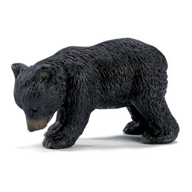 Black Bear Cub Vinyl Figure