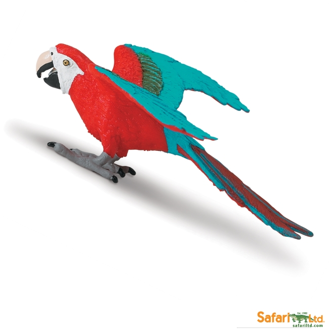 Green-Winged Macaw Vinyl Figure