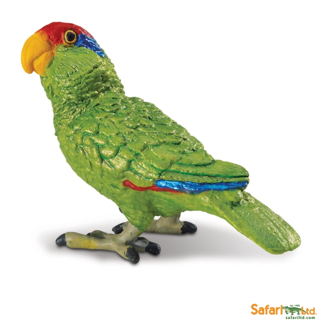 Green-cheeked Amazon Parrot Vinyl Figure