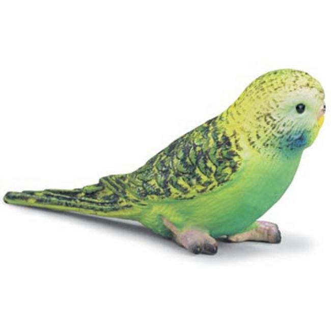 Green Budgie Parakeet Vinyl Figure