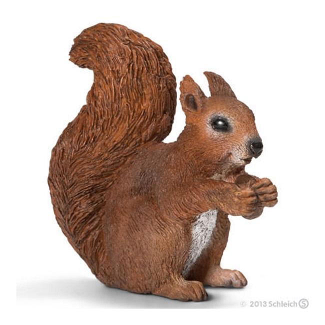 Squirrel Eating Vinyl Figure