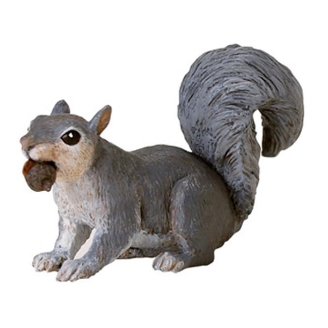 Gray Squirrel Vinyl Figure