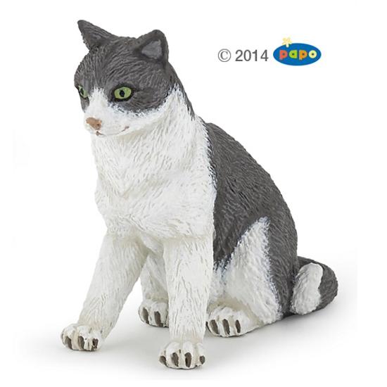Sitting Cat Vinyl Figure