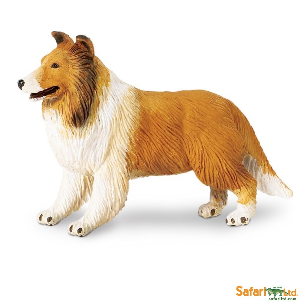 Collie Dog Vinyl Figure
