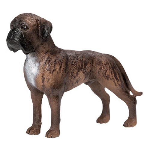 Male Boxer Dog Vinyl Figure