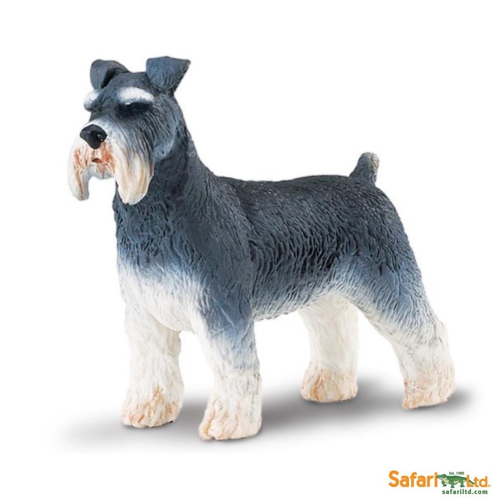 Schnauzer Dog Vinyl Figure