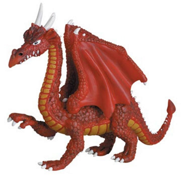 Red Horned Dragon Vinyl Figure