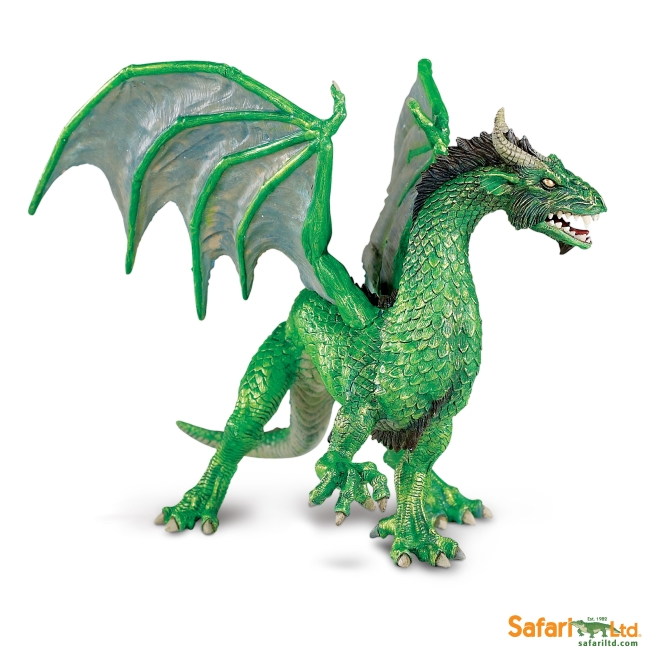 Forest Dragon Vinyl Figure