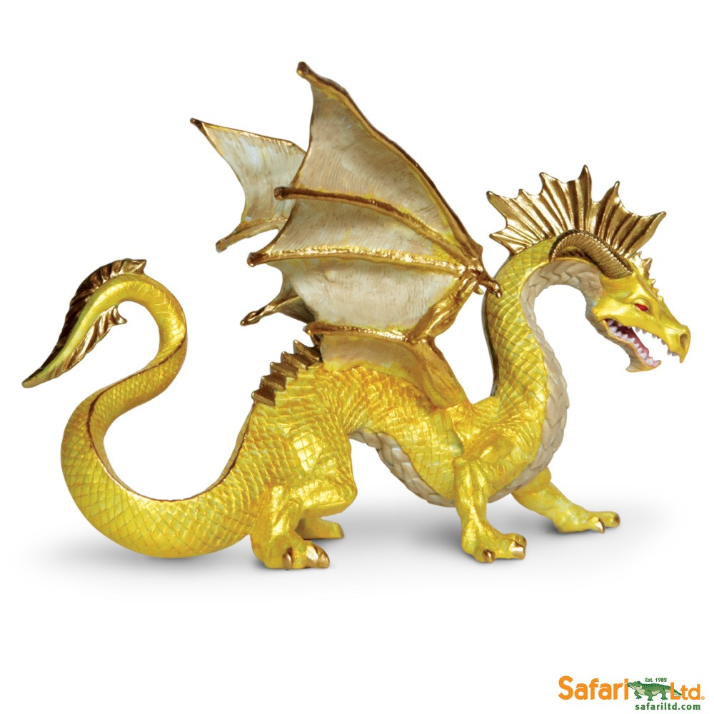 Golden Dragon Vinyl Figure