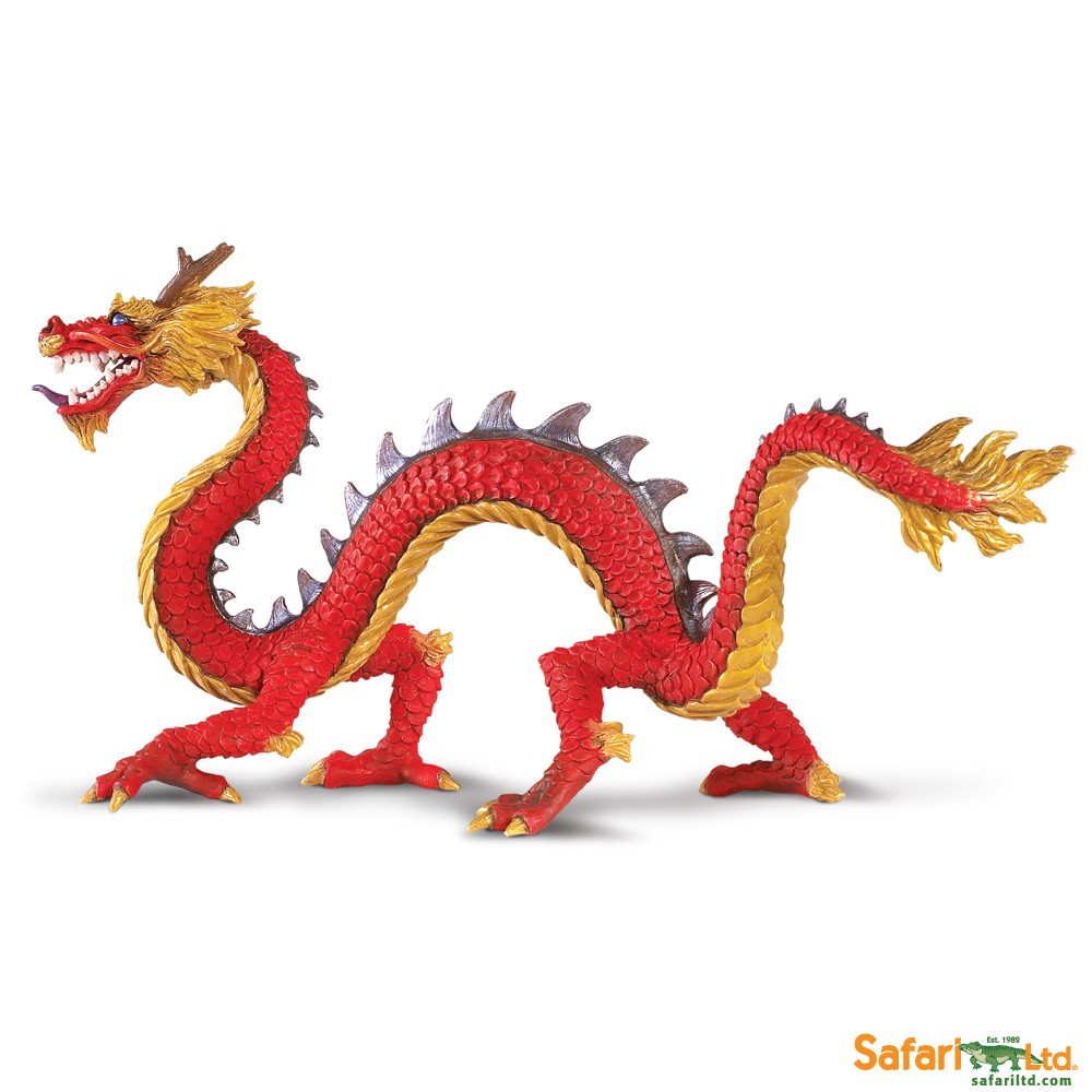 Horned Chinese Dragon Vinyl Figure