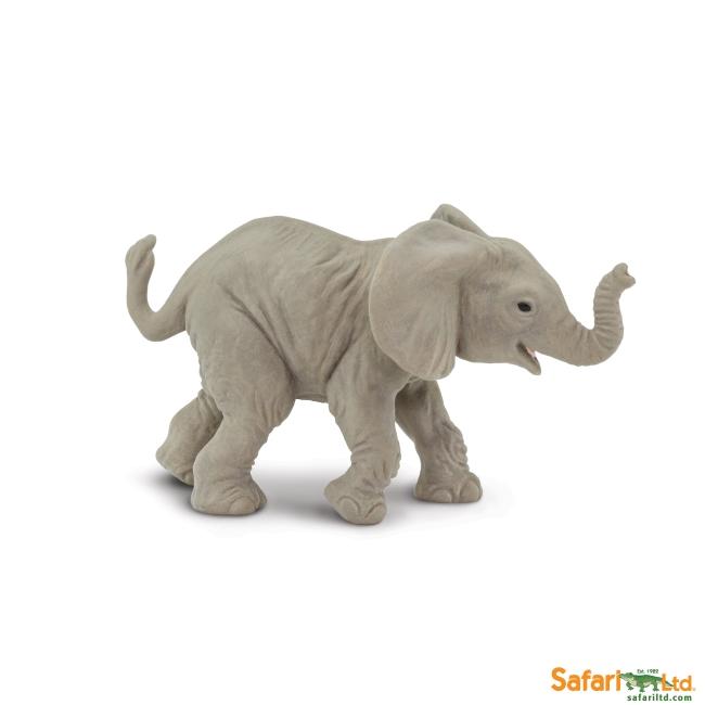 African Elephant Calf Vinyl Figure