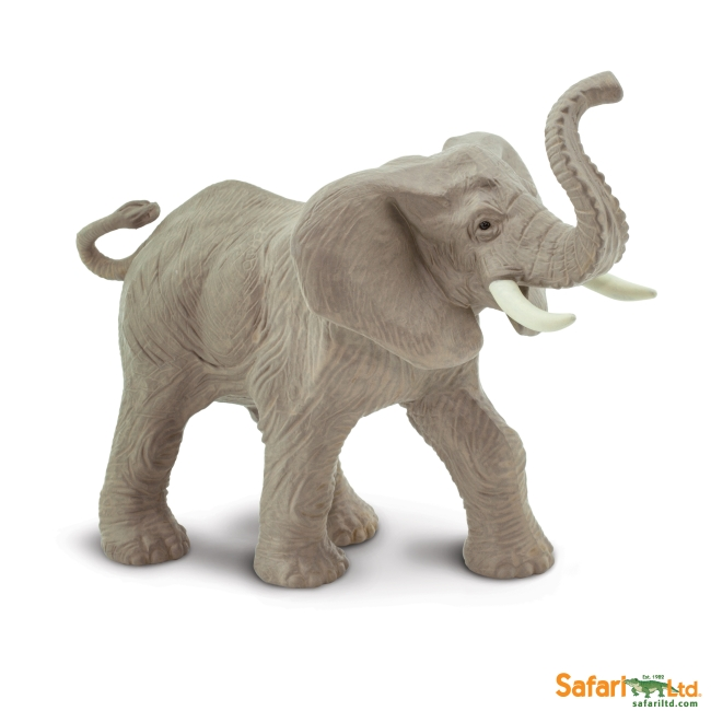 African Elephant Trumpeting Vinyl Figure