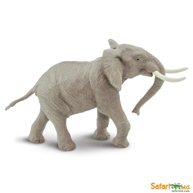 African Bull Elephant Vinyl Figure