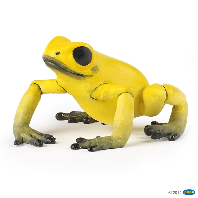 Equitorial Frog: Yellow Vinyl Figure