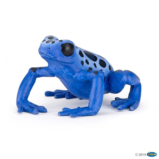 Equitorial Frog: Blue Vinyl Figure
