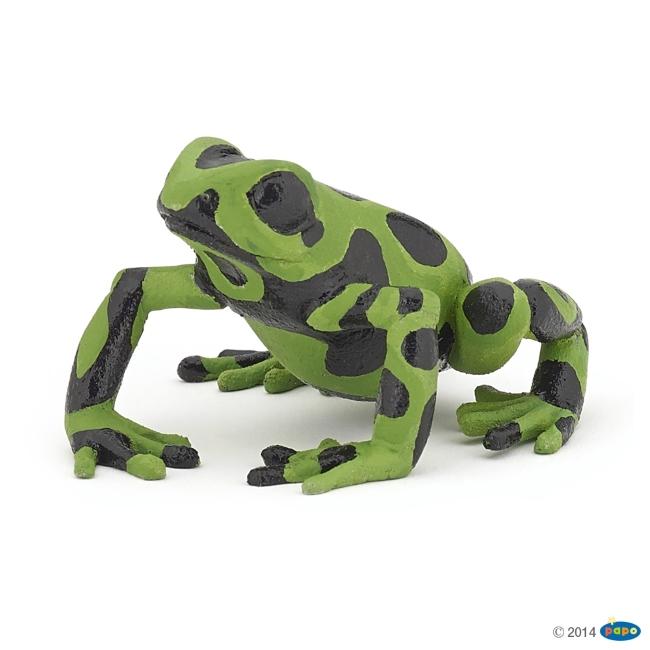 Equitorial Frog: Green Vinyl Figure