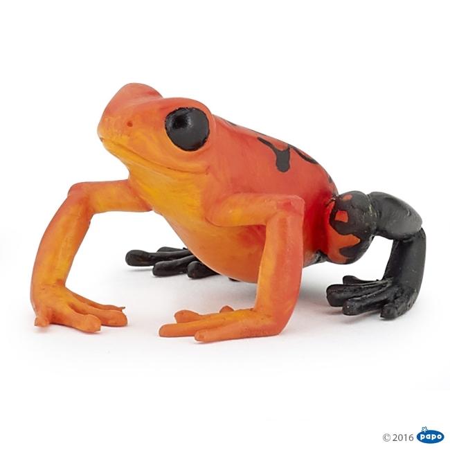 Equitorial Frog: Red Vinyl Figure