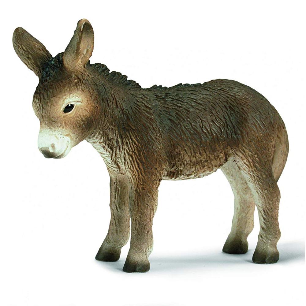 Gray Donkey Foal Vinyl Figure