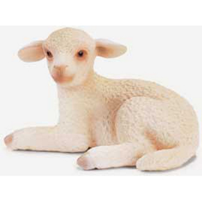 Lying Lamb Sheep Vinyl Figure