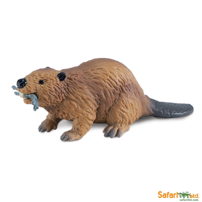 Beaver with Stick Vinyl Figure