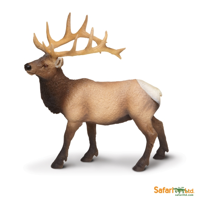 Elk Bull Vinyl Figure