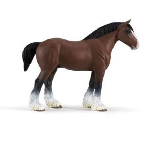 Clydesdale Horse Stallion Vinyl Figure