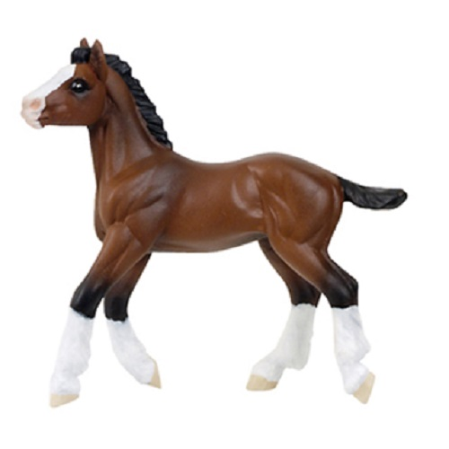 Clydesdale Horse Foal Vinyl Figure