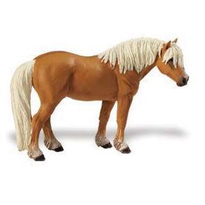 Haflinger Horse Vinyl Figure