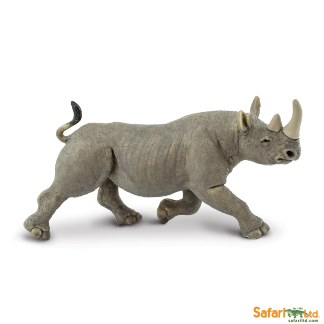 Black Rhino Vinyl Figure