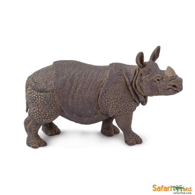 Indian Rhino Vinyl Figure