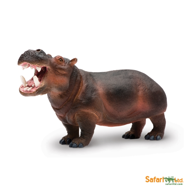 Hippopotamus with Open Mouth Vinyl Figure