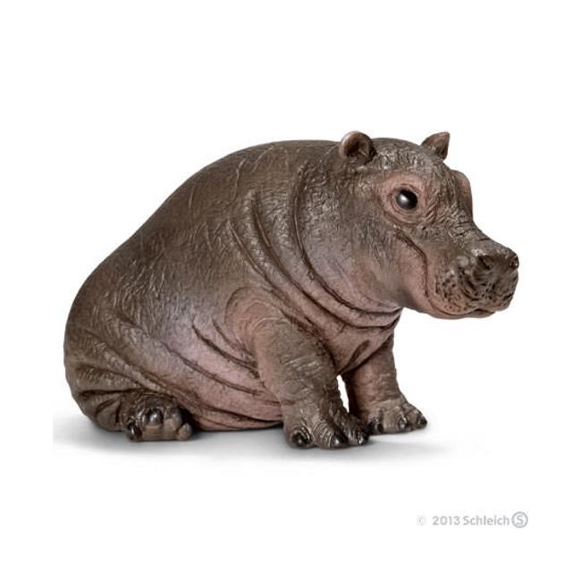 Hippopotamus Calf Vinyl Figure