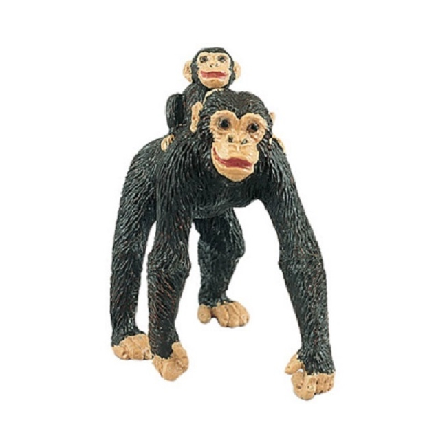 Chimpanzee with Baby Vinyl Figure