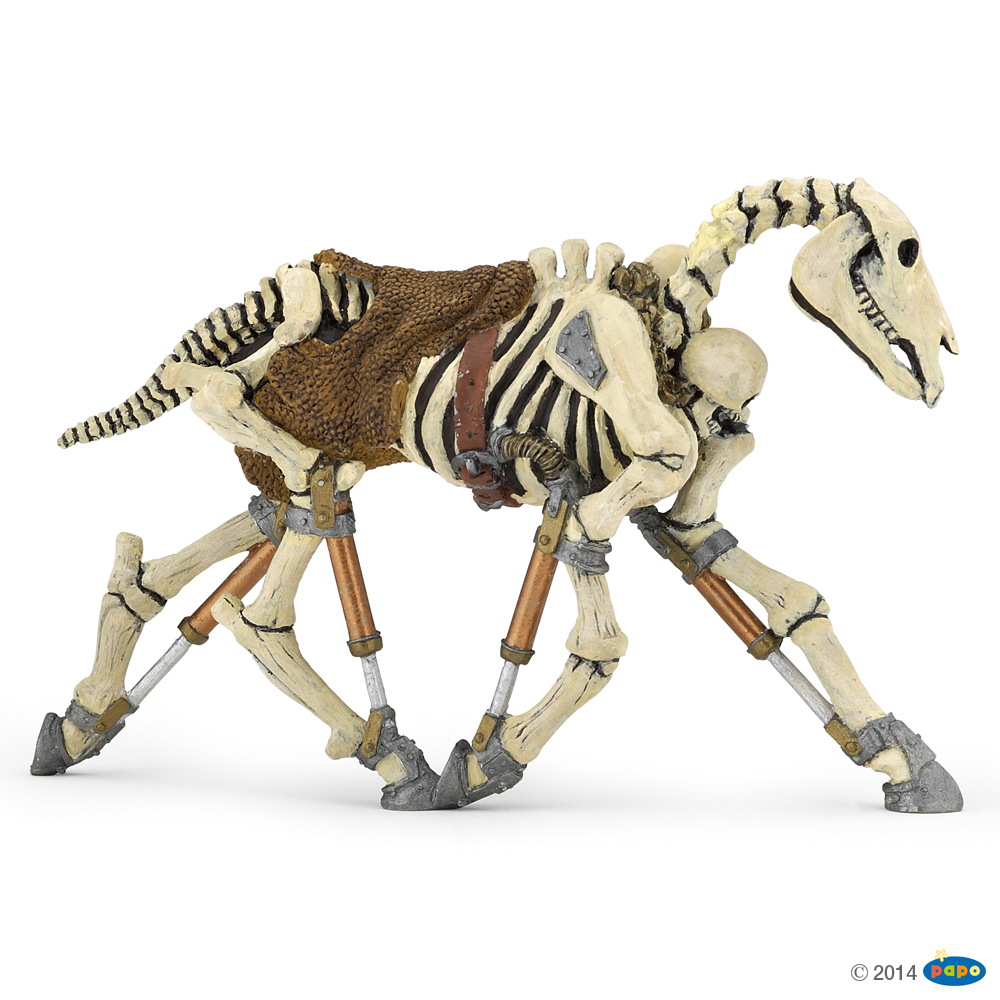 Skeleton Horse Vinyl Figure