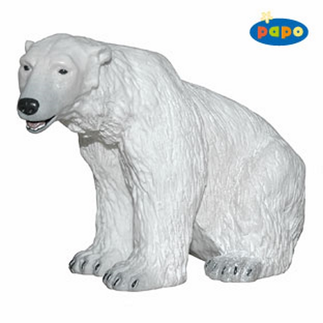 Sitting Polar Bear Vinyl Figure