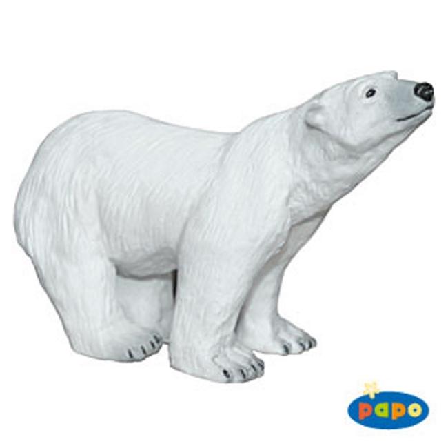 Standing Polar Bear Vinyl Figure