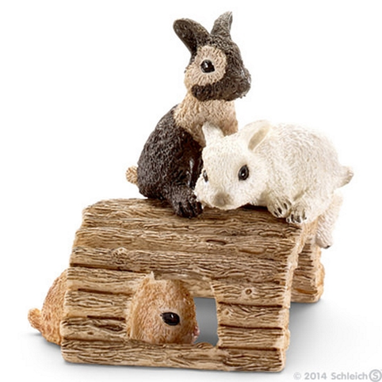 Baby Rabbits Vinyl Figure