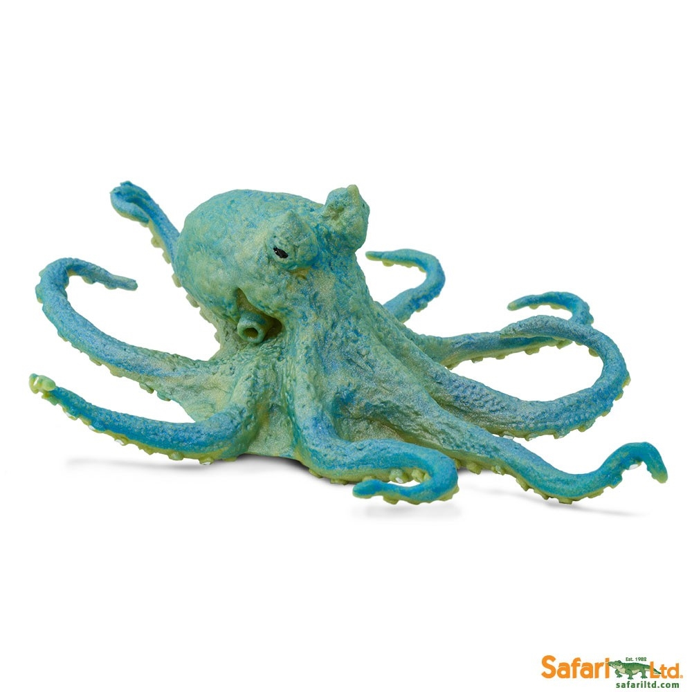 Green Octopus Vinyl Figure