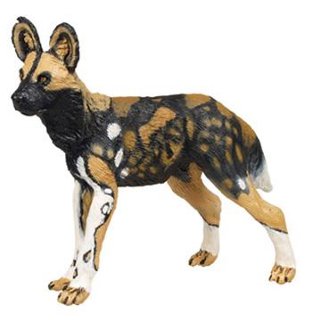 African Wild Dog Vinyl Figure