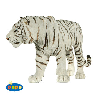 Male White Tiger Vinyl Figure