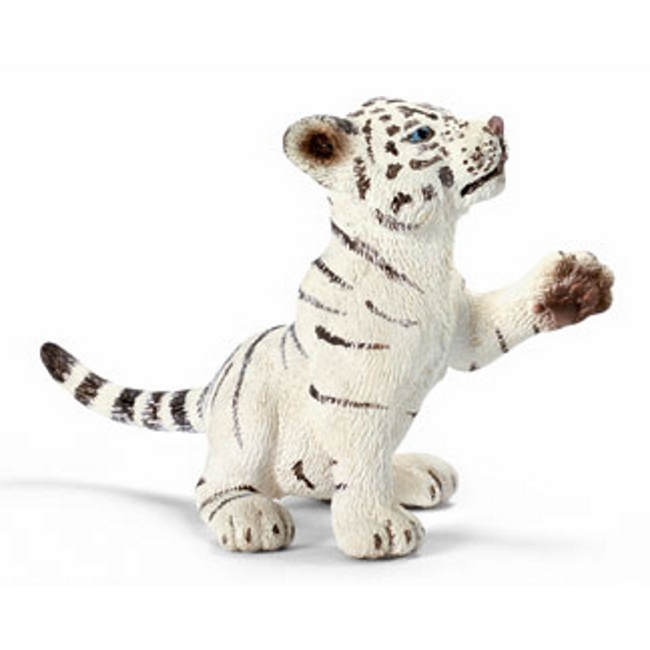 Playing White Tiger Cub Vinyl Figure