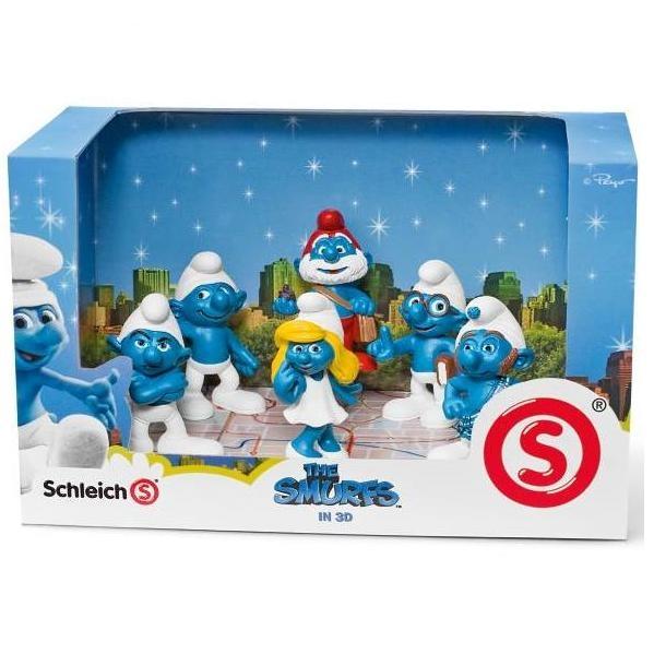 Smurf Movie Set Vinyl Figure