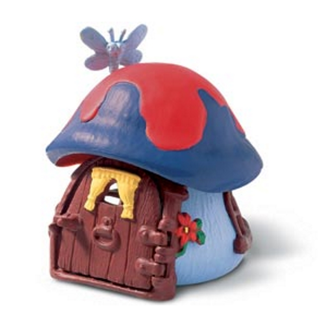 Smurf Cottage: Blue Vinyl Figure
